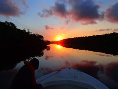 Sunrise over Shark River, Everglades National Park. Photo courtesy of Phil Matich.