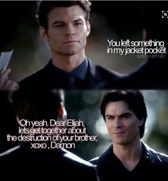TVD Elijah and Damon