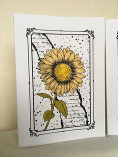 Screen Sensation card by Heidi's creations. Décor Crafts, Screen Printing, Card Ideas, Gallery, Drawings, Board, How To Make, Prints, Decor