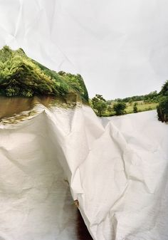 Distorted Landscape Photographs by Laura Plageman | Posted by CJWHO.com