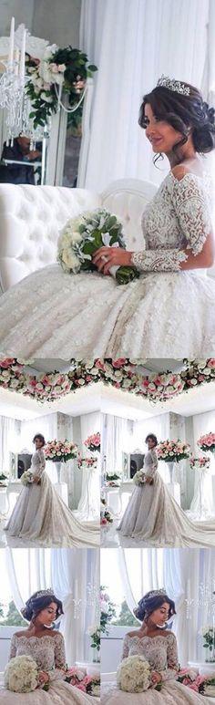 lace ball gown wedding dresses, 2017 wedding dresses, wedding dresses 2017, bridal gown, simple wedding dresses, corset wedding dresses