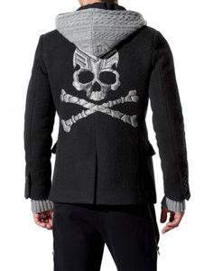 """hoodie jacket """"dark"""" - Philipp Plein - For the men- Autumn - New Arrivals"""