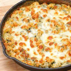 Spinach Artichoke Mac & Cheese Recipe by Tasty
