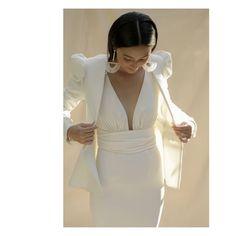 Instagram Marie, Bodice, Wrap Dress, Bodycon Dress, Gowns, Blazer, Silk, Photo And Video, Bridal