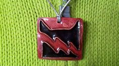 Handcrafted Enamel Jewelry Pendant Warrior Cats - Thunderclan pendant