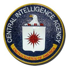 Central Intelligence Agency CIA Seal/Podium Plaque