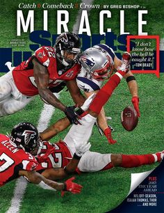 cf4194ab3f2e1 All 51 SI Super Bowl covers. Edelman PatriotsNfl ...