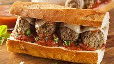 طريقة عمل سندويش كرات اللحم - Meat ball sandwich