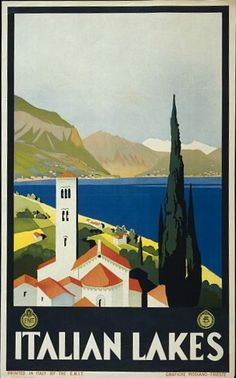 Vintage Travel Posters From the Library of Congress | eklectica.in