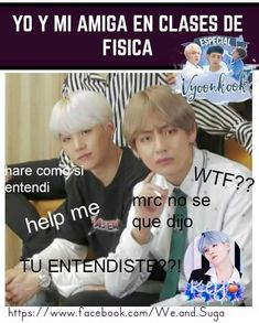 Read from the story MEMES DE BTS 3 by Ktxebae (𝐮𝐰𝐮) with reads. Bts Funny, Funny Memes, Bts Bangtan Boy, Bts Jungkook, Taehyung, Kdrama Memes, Bts Imagine, Got7 Jackson, Bts And Exo