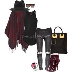 Untitled #2964 by stylebydnicole on Polyvore featuring Rick Owens, Etro, Sophie Hulme and CÉLINE