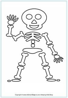 graphic about Skeleton Stencil Printable referred to as 9 Most straightforward skeleton template photos inside 2016 Skeleton template