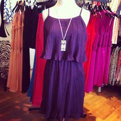 Plum Gorgeous Dress $54,   Available at www.piaceboutique.com