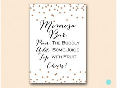 BS155R-sign-mimosa-bar--rose-gold-bridal-shower-game