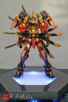 1/100 MG Sengoku Astray-Nobunaga V2: Work by Kikijiki Concepts. Full Photoreview No.20 Big Size Images http://www.gunjap.net/site/?p=243605