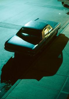 Dark Car, Vancouver, 1982 by Greg Girard Night Photography, Color Photography, Street Photography, Fanfic Destiel, Nocturne, Tumblr Neon, Slytherin, The Villain, Light And Shadow