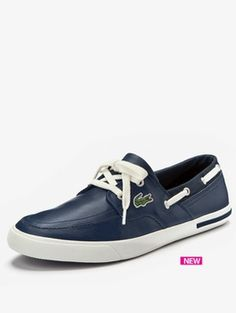 c41af8cc46427 Lacoste Newton boat shoes Top Sider