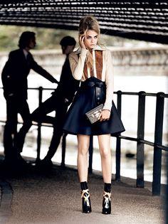 #CaraDelevingne Vogue, 2014