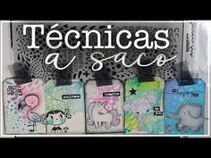 💖 FONDOS FÁCILES con STENCIL de CARABELLE + TÉCNICAS - YouTube Decoupage, Scrapbook Cards, Scrapbooks, Stencils, Mixed Media, Make It Yourself, Tags, Instagram, Crafts