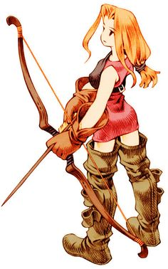 Archer (Tactics) - The Final Fantasy Wiki has more Final Fantasy information than Cid could research, ArcherFemale.png