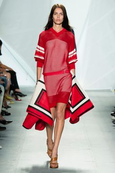 Lacoste Spring 2015. See the whole collection on Vogue.com.