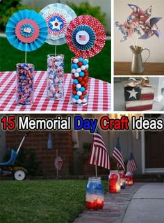15 Memorial Day Craft Ideas