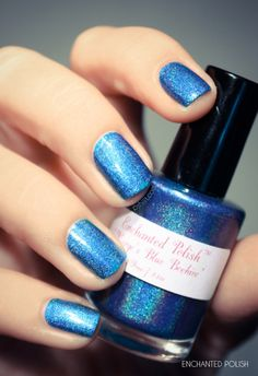 Enchanted polish  Marges Blue Beehive