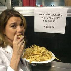 Grey's Anatomy. Behind the scenes. Ellen Pompeo