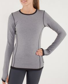 warm'er long sleeve reversible in slate/black, slate side, ivivva