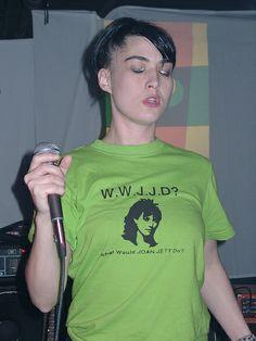Kathleen Hanna Want That Shirt
