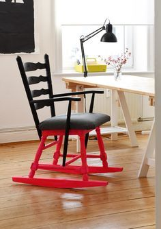 DIY Anleitung: Schaukelstuhl bauen // DIY tutorial: how to build a rocking chair, upcycling via DaWanda.com