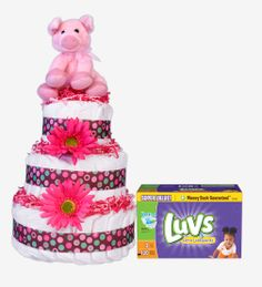 Diapers aren't just for baby bottoms, they're for baby showers! Re-Pin your favorite diaper cake for the chance to win a $100 Dollar General Gift Card. #DGDiaperCakes