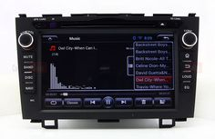 Android Head Unit Car DVD Player for Honda CRV 2006-2011 with GPS Navigation Radio BT TV DVR Stereo 3G WIFI