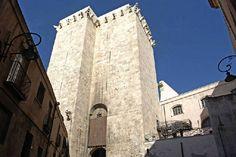 CAGLIARI,torre dell'Elefante-The Elephant tower in Cagliari