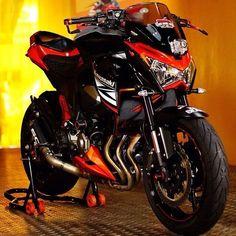 - Kawasaki #Z800 -  #Moto #Motorcycle #Motosiklet #Race #Racing #Cycle #Biker #Custom #Bike #Sportbike #Superbike -  #Honda #Yamaha #Kawasaki #BMW #KTM #Ducati #Aprilia #Triumph