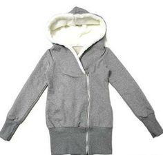 Fleece Thick Neck Zippered Hoodies