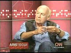 """Eduardo Galeano: La historia que no nos contaron  México DF. Julio del 2011. El periodista y escritor uruguayo Eduardo Galeano, entrevistado por Carmen Aristegui de CNN - México, habla de su libro """"Espejos. Una Historia Casi Universal"""", publicado por la Editorial Siglo XXI."""