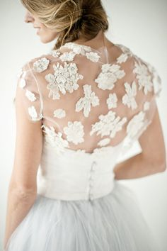 Lace on Tulle  [by Chaviano Couture]
