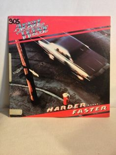 "April Wine / Harder Faster / Near Mint 12"" Vinyl LP Record / Original Inner Sleeve / Rock Album"