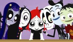 Not a book, but a fantastic tv show that our whole family likes.  Ruby Gloom.