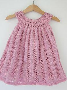 hentesett jentebaby - Google-søk Summer Dresses, Baby Dresses, Knit Dress, Crochet Top, Knitting, Fest, Clothes, Tops, Women