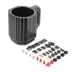Coffee Cup Mug Build Brick Mega Blocks Adult Child Fun Toys Mug Gift Oe