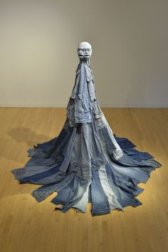 Jim Arendt Denim Sculpture