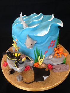 Scuba Diving cake — Birthday Cakes