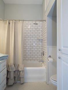 Master Bath, After - A 1937 Craftsman Gets a Makeover, Fixer-Upper Style on HGTV