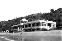 Pavilhão de chá da Polana, Lourenço Marques, Moçambique, 1950. Maputo, 1950, Cape Town, Continents, Colonial, Countries, Beautiful Places, Africa, Mansions
