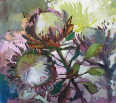 Protea Trio   by Jenny Parsons