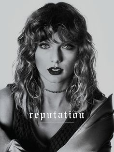 "Taylor Swift ""My reputations never been worse, so you must like me for me."""