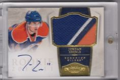 Hockey Card Checklists | By Year and Brand Eberle Patch Auto