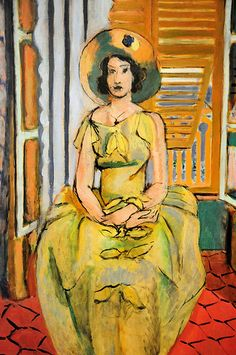 Henri Matisse - The Yellow Dress at Baltimore Art Museum
